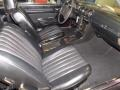 Front Seat of 1977 SL Class 450 SL roadster
