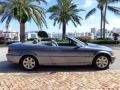 2001 3 Series 325i Convertible Steel Blue Metallic