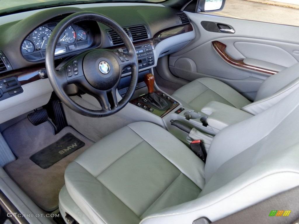 2001 Bmw 3 Series 325i Convertible Interior Color Photos