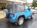 2011 Cosmos Blue Jeep Wrangler Sport 4x4  photo #8