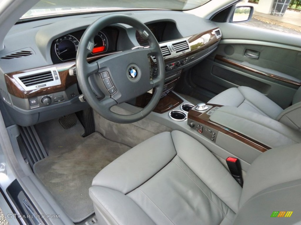 2003 bmw 7 series 745li sedan interior photos