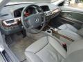 Basalt Grey/Flannel Grey Interior Photo for 2003 BMW 7 Series #88591909