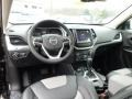 Iceland - Black/Iceland Gray 2014 Jeep Cherokee Interiors