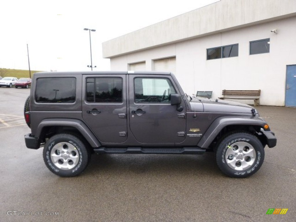 2014 granite metallic jeep wrangler unlimited sahara 4x4 88576885 photo 5 car. Black Bedroom Furniture Sets. Home Design Ideas