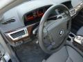 Basalt Grey/Flannel Grey Steering Wheel Photo for 2003 BMW 7 Series #88593337