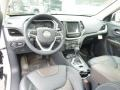 Vesuvio - Jeep Brown/Indigo Blue 2014 Jeep Cherokee Interiors