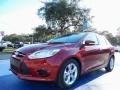 Ruby Red 2014 Ford Focus Gallery