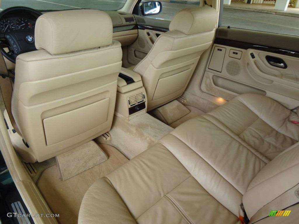 1997 BMW 7 Series 740iL Sedan Interior Color Photos ...