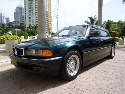 1997 bmw 7 series 740il sedan data info and specs. Black Bedroom Furniture Sets. Home Design Ideas