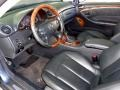 2004 CLK 500 Coupe Charcoal Interior