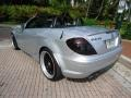 Iridium Silver Metallic 2005 Mercedes-Benz SLK 55 AMG Roadster