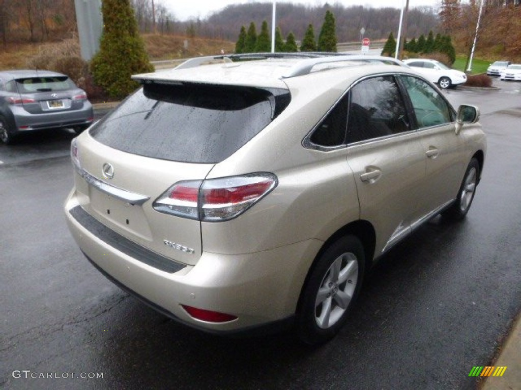 Satin Cashmere Metallic 2013 Lexus Rx 350 Awd Exterior Photo 88611595