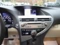 Parchment/Espresso Birds Eye Maple Controls Photo for 2013 Lexus RX #88611718