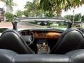 1997 Jaguar XK Charcoal Interior Dashboard Photo
