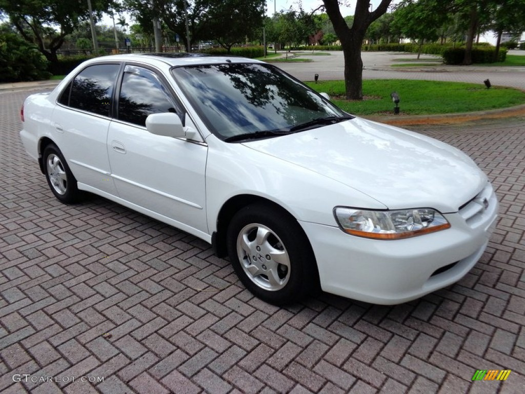 Taffeta White 2000 Honda Accord Ex L Sedan Exterior Photo