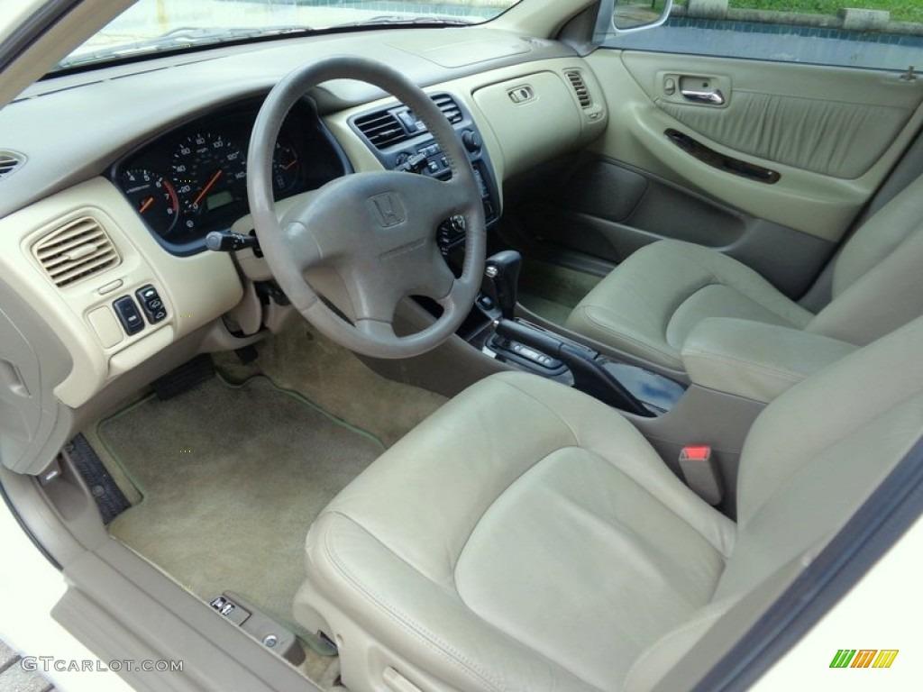 2000 Honda Accord Ex L Sedan Interior Color Photos