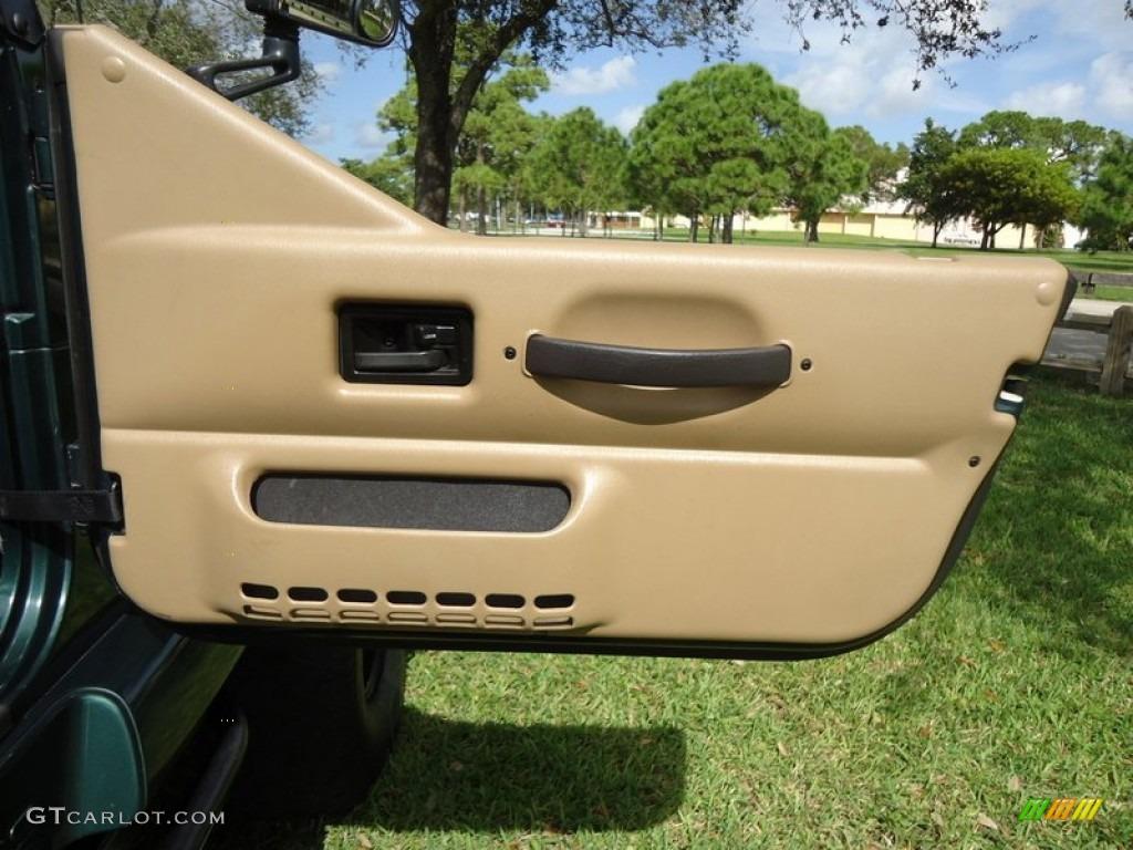 2000 Jeep Wrangler Sahara 4x4 Door Panel Photos