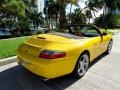 Speed Yellow 2002 Porsche 911 Carrera Cabriolet