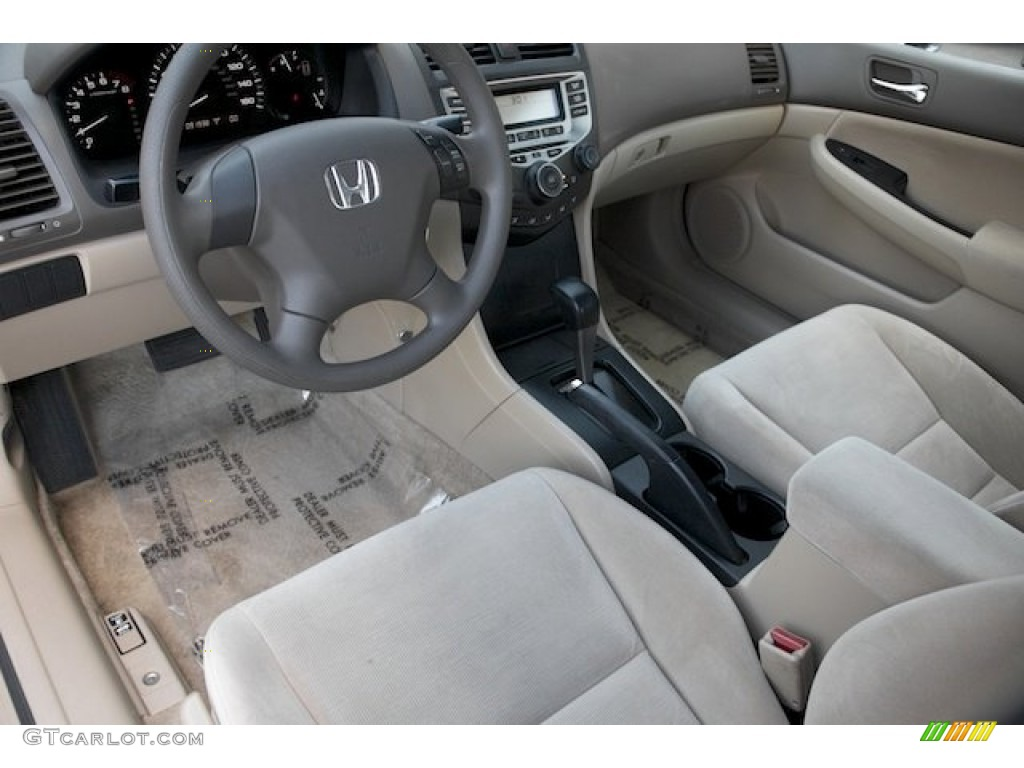 Ivory Interior 2006 Honda Accord Value Package Sedan Photo