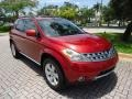 2006 Sunset Red Pearl Metallic Nissan Murano SL #88577036