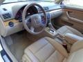 Beige 2007 Audi A4 Interiors