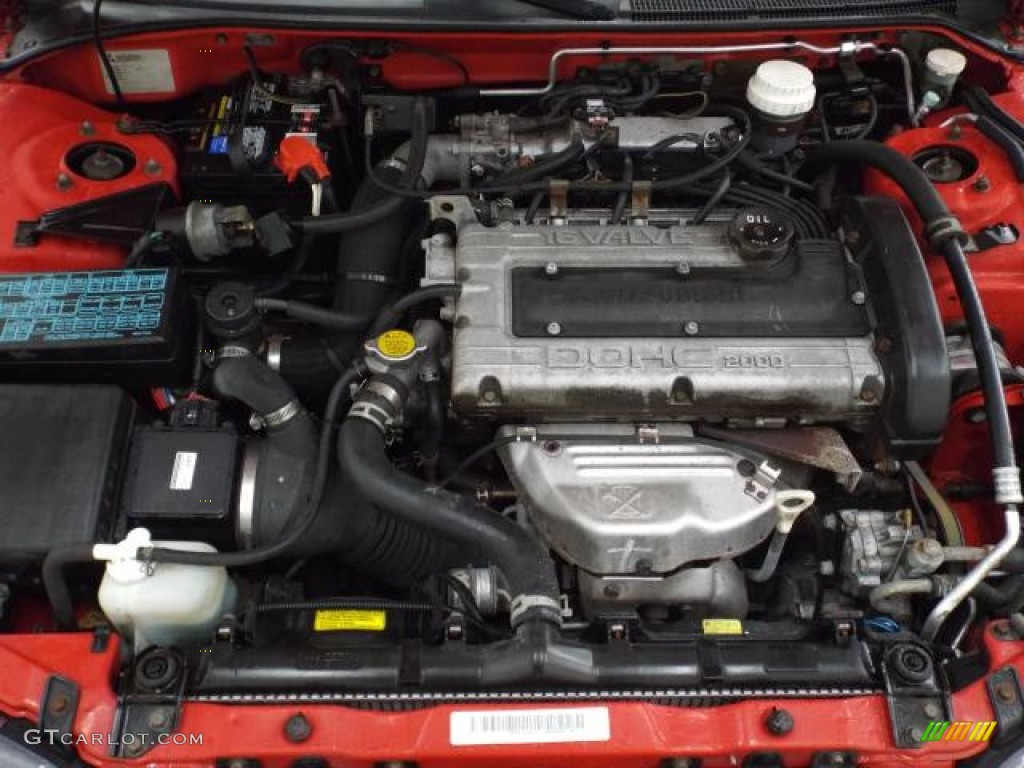 1997 Mitsubishi Eclipse Spyder Gs T Turbo Engine Photos
