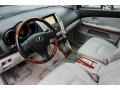Light Gray 2009 Lexus RX Interiors