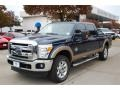 2014 Blue Jeans Metallic Ford F250 Super Duty Lariat Crew Cab 4x4 #88636647