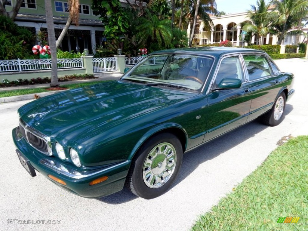 British racing green 1998 jaguar xj xj8 l exterior photo for Jaguar xj exterior