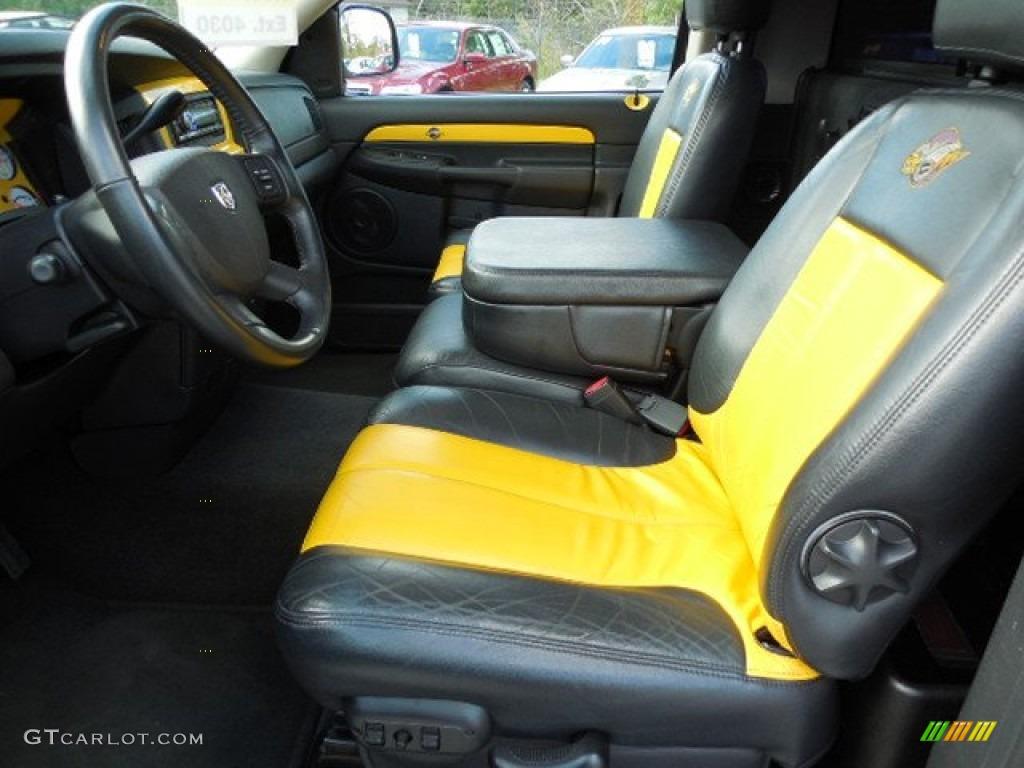2004 Dodge Ram 1500 SLT Rumble Bee Regular Cab Interior Photos |  GTCarLot.comGTCarLot.com