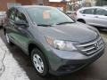 2014 Polished Metal Metallic Honda CR-V LX AWD  photo #9