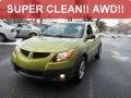 Envy Green 2003 Pontiac Vibe AWD