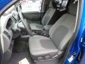 2014 Nissan Xterra Gray Interior Front Seat Photo