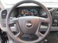 2012 Black Chevrolet Silverado 1500 LS Regular Cab 4x4  photo #14