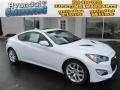 Monaco White 2013 Hyundai Genesis Coupe 3.8 Grand Touring