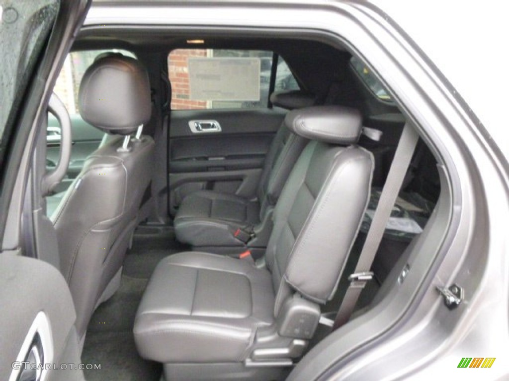 charcoal black interior 2014 ford explorer limited 4wd