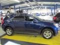 2010 Navy Blue Metallic Chevrolet Equinox LT AWD  photo #7