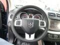 Black/Light Frost Beige Steering Wheel Photo for 2014 Dodge Journey #88736877