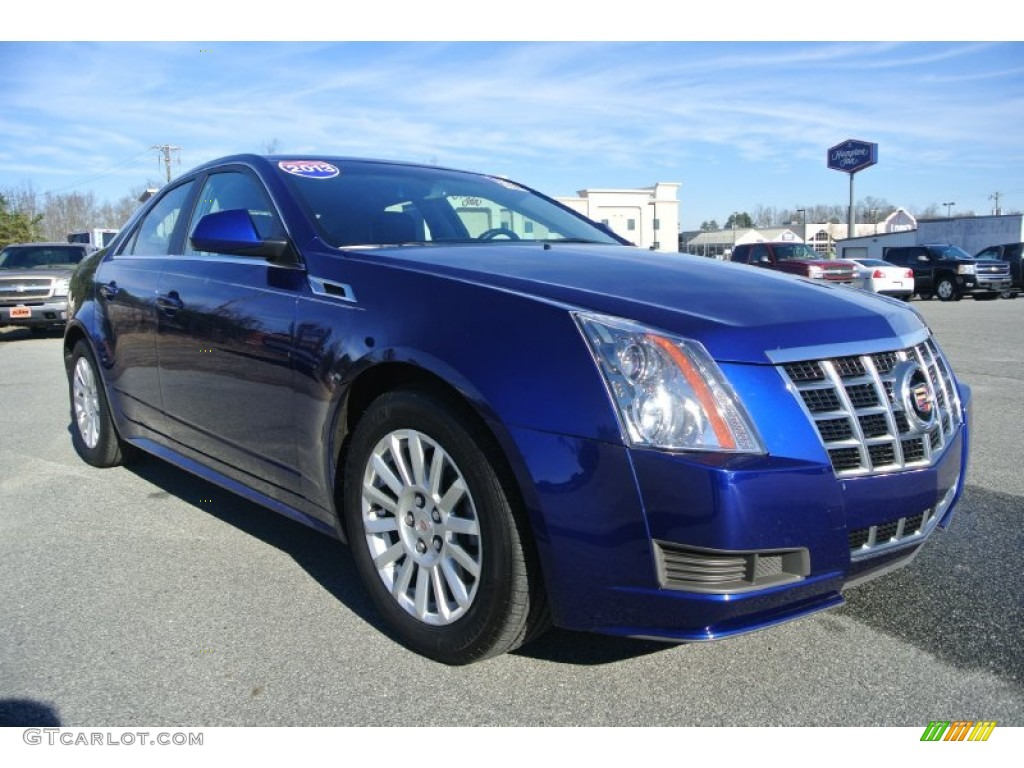 2013 Opulent Blue Metallic Cadillac Cts 4 3 0 Awd Sedan