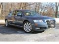 Night Blue Pearl Effect 2008 Audi A8 L 4.2 quattro
