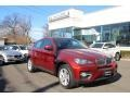 Vermillion Red Metallic 2011 BMW X6 xDrive35i