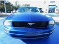 2009 Vista Blue Metallic Ford Mustang V6 Coupe  photo #8