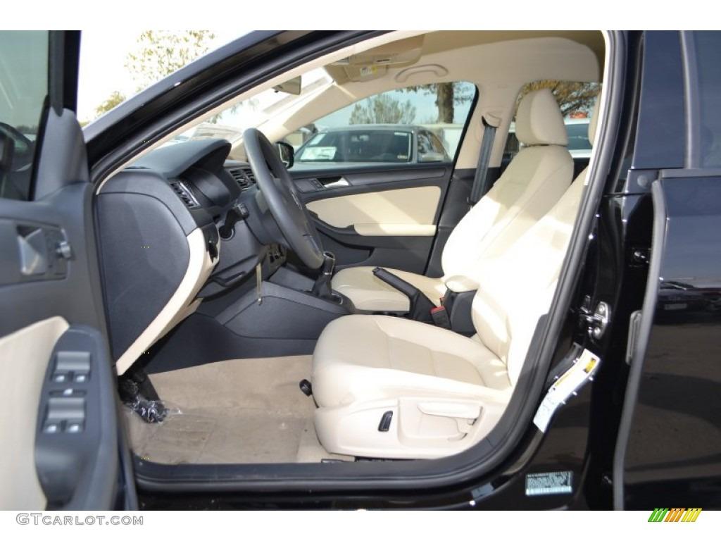 Cornsilk Beige Interior 2014 Volkswagen Jetta Se Sedan Photo 88779107