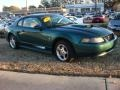 2003 Tropic Green Metallic Ford Mustang V6 Coupe  photo #2