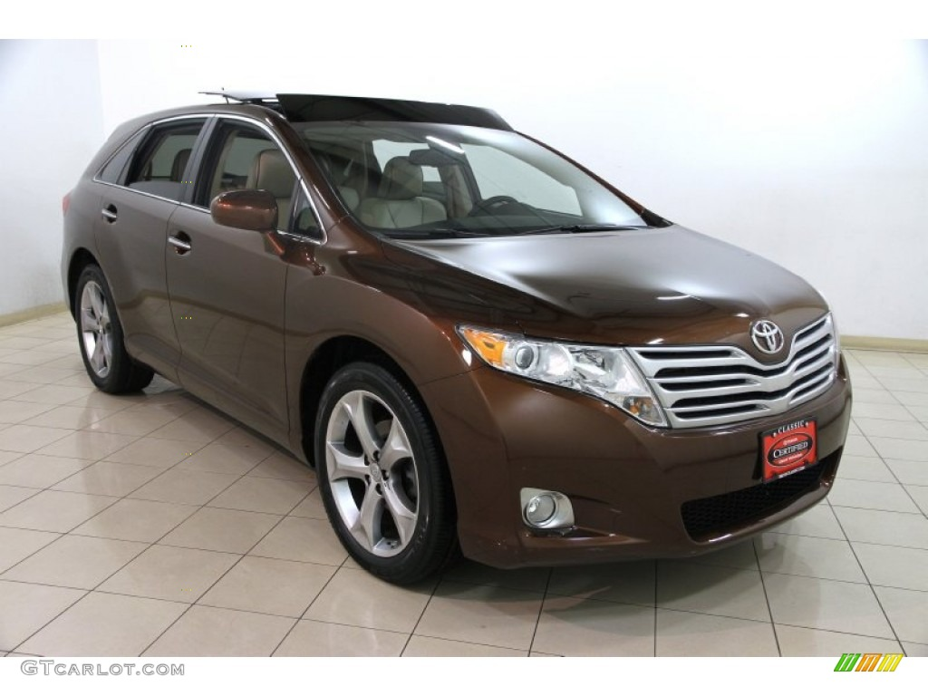 2011 sunset bronze mica toyota venza v6 awd 88770135. Black Bedroom Furniture Sets. Home Design Ideas