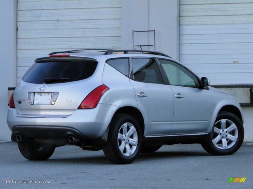 2007 Murano SL - Brilliant Silver Metallic / Charcoal photo #2
