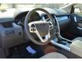 Medium Light Stone 2014 Ford Edge Interiors