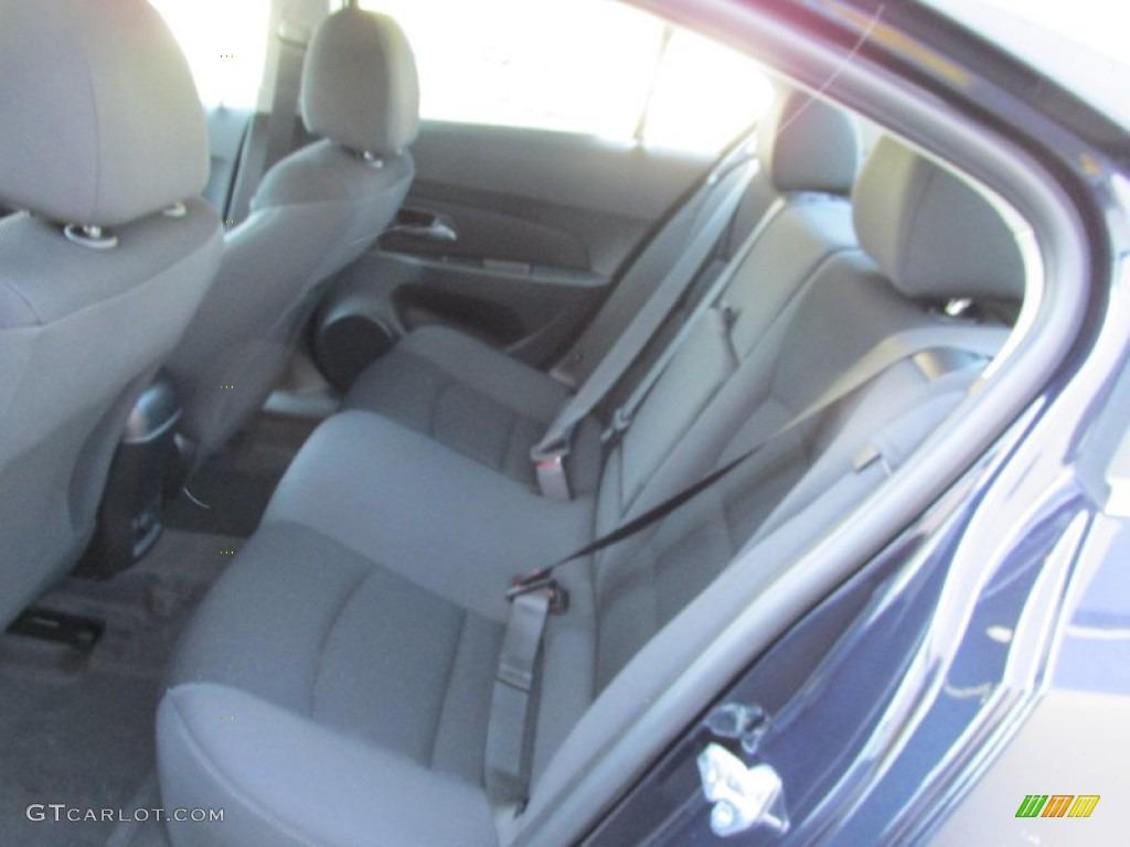 Jet Black Interior 2014 Chevrolet Cruze Lt Photo 88802378