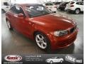 Sedona Red Metallic 2008 BMW 1 Series 128i Coupe