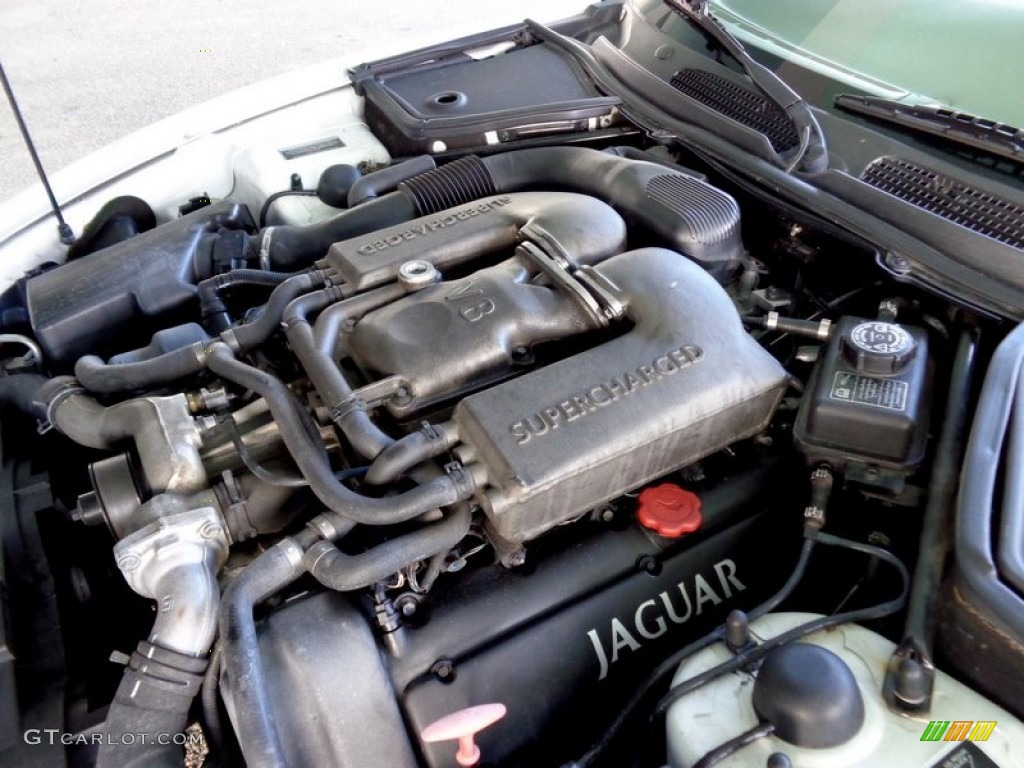 2000 jaguar xk xkr convertible 4 0 liter supercharged dohc 32v v8 engine photo 88811375. Black Bedroom Furniture Sets. Home Design Ideas